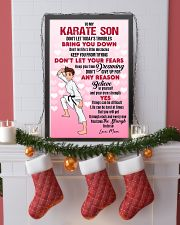 KARATE SON - DON'T LET TODAY'S TROUBLES POSTER 11x17 Poster lifestyle-holiday-poster-4