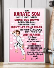 KARATE SON - DON'T LET TODAY'S TROUBLES POSTER 11x17 Poster lifestyle-poster-4