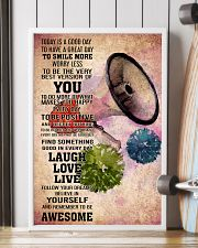 CHEER- TODAY IS A GOOD DAY POSTER 16x24 Poster lifestyle-poster-4