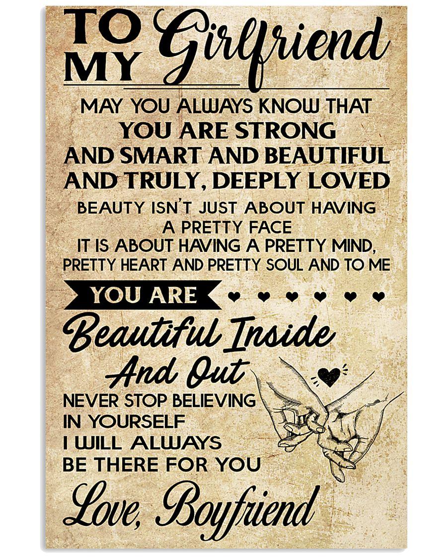 TO MY GIRLFRIEND-BOYFRIEND 16x24 Poster