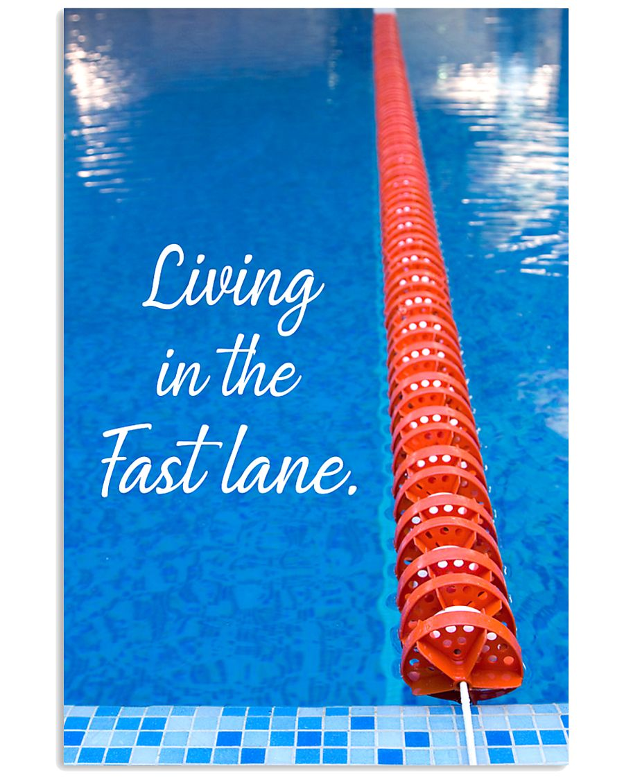 LIVING IN THE FAST LANE SKY 16x24 Poster