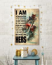 MOTOCROSS DAUGHTER - FOR MY GOD 16x24 Poster lifestyle-holiday-poster-3