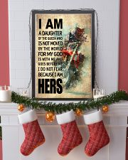 MOTOCROSS DAUGHTER - FOR MY GOD 16x24 Poster lifestyle-holiday-poster-4