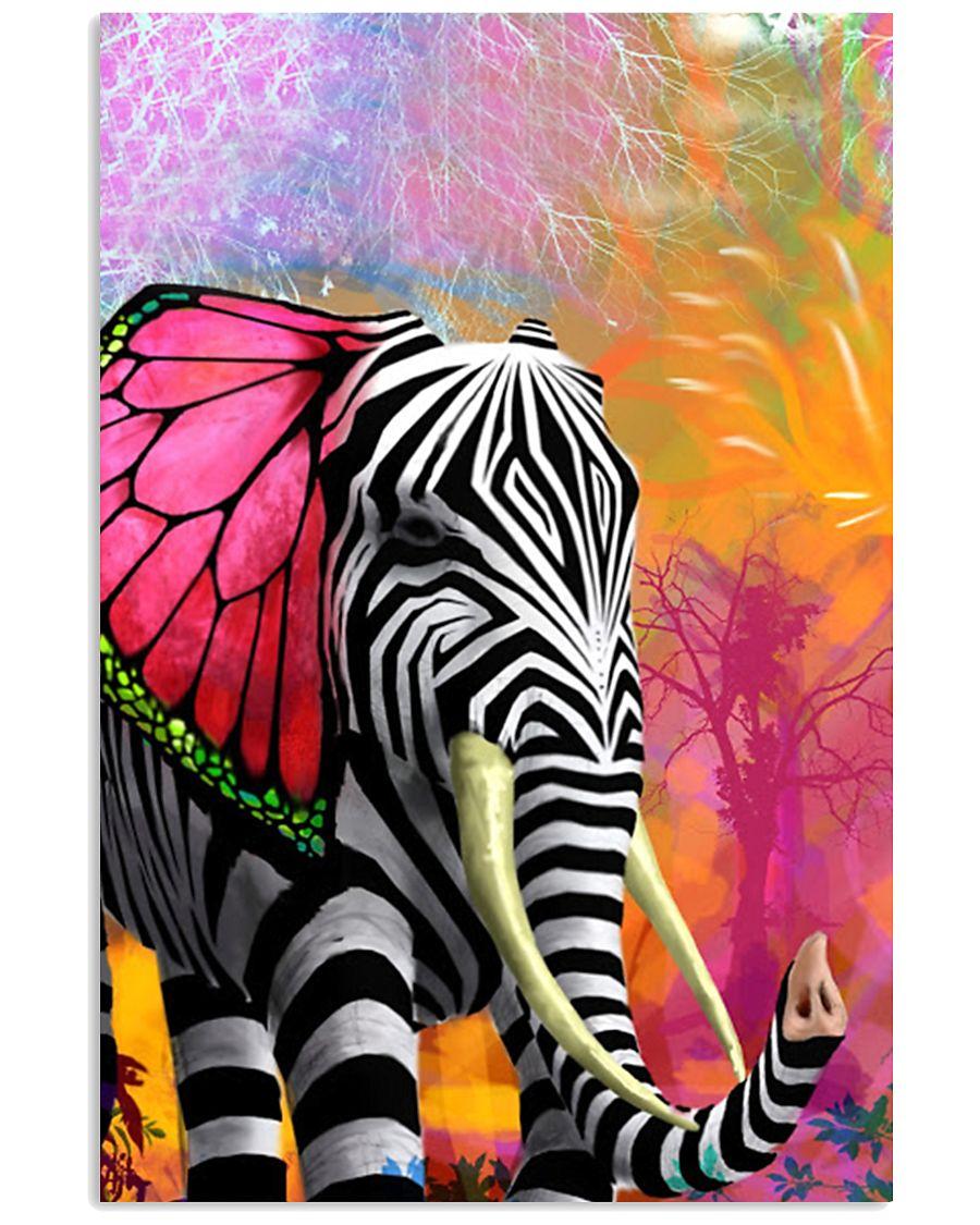 Elephants Mix Animal Poster GL - TL 11x17 Poster