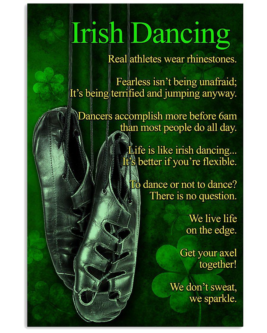 Irish Dancing  Poster 11x17 Poster