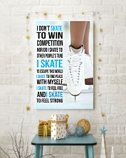 I DON'T SKATE TO WIN COMPETITION  11x17 Poster lifestyle-holiday-poster-3