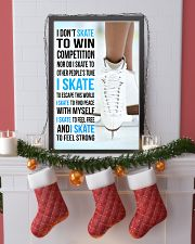 I DON'T SKATE TO WIN COMPETITION  11x17 Poster lifestyle-holiday-poster-4