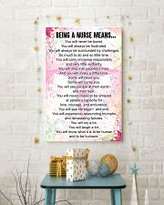 being a NURSE means 16x24 Poster lifestyle-holiday-poster-3