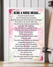 being a NURSE means 16x24 Poster lifestyle-poster-4