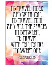 YOUR BOYFRIEND-I'D TRAVEL THICK AND WITH YOU 16x24 Poster front