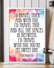 YOUR BOYFRIEND-I'D TRAVEL THICK AND WITH YOU 16x24 Poster lifestyle-poster-4