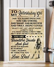 TO MY Rollerblading GIRL- DAD 16x24 Poster lifestyle-poster-4