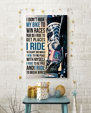 4- I DON'T RIDE MY BIKE TO WIN RACES - KD 11x17 Poster lifestyle-holiday-poster-3
