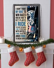 4- I DON'T RIDE MY BIKE TO WIN RACES - KD 11x17 Poster lifestyle-holiday-poster-4