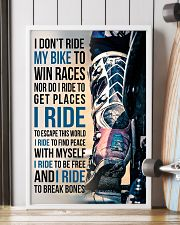 4- I DON'T RIDE MY BIKE TO WIN RACES - KD 11x17 Poster lifestyle-poster-4