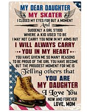 MY DEAR DAUGHTER - Skating 16x24 Poster front