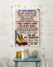 MY DEAR DAUGHTER - Skating 16x24 Poster lifestyle-holiday-poster-3