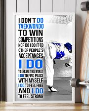 I DON'T DO TAEKWONDO TO WIN COMPETITIONS 11x17 Poster lifestyle-poster-4