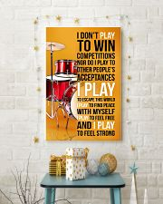 DRUMP - I DON'T PLAY TO WIN COMPETITIONS 11x17 Poster lifestyle-holiday-poster-3