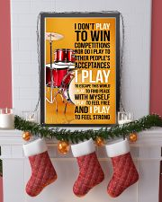 DRUMP - I DON'T PLAY TO WIN COMPETITIONS 11x17 Poster lifestyle-holiday-poster-4