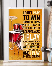 DRUMP - I DON'T PLAY TO WIN COMPETITIONS 11x17 Poster lifestyle-poster-4