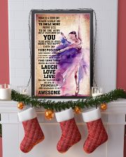 DANCE- TODAY IS A GOOD DAY POSTER 11x17 Poster lifestyle-holiday-poster-4