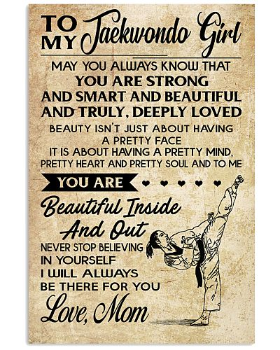 TO MY Taekwondo Girl