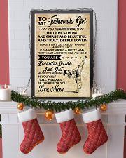 TO MY Taekwondo Girl 11x17 Poster lifestyle-holiday-poster-4