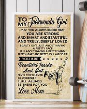 TO MY Taekwondo Girl 11x17 Poster lifestyle-poster-4