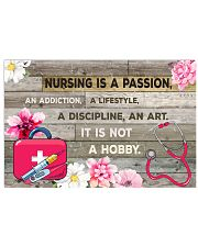 NURSING IS PASSION POSTER 17x11 Poster front
