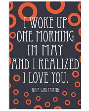 May- I WOKE UP ONE MORNING 16x24 Poster front