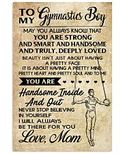 TO MY  Gymnastics Boy - Mom 16x24 Poster front