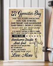 TO MY  Gymnastics Boy - Mom 16x24 Poster lifestyle-poster-4