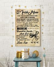 TO MY Irish MOM SON 16x24 Poster lifestyle-holiday-poster-3
