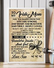 TO MY Irish MOM SON 16x24 Poster lifestyle-poster-4