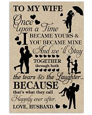 TO MY WIFE- ONE UPON A TIME POSTER 16x24 Poster front