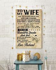 TO MY WIFE- HUSBAND 16x24 Poster lifestyle-holiday-poster-3