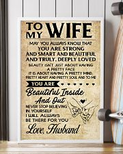TO MY WIFE- HUSBAND 16x24 Poster lifestyle-poster-4