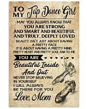 TO MY TAP DANCE GIRL 16x24 Poster front