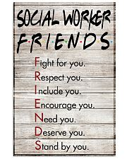 Social Worker Friends - Poster 11x17 Poster front