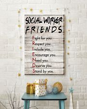 Social Worker Friends - Poster 11x17 Poster lifestyle-holiday-poster-3