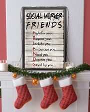 Social Worker Friends - Poster 11x17 Poster lifestyle-holiday-poster-4
