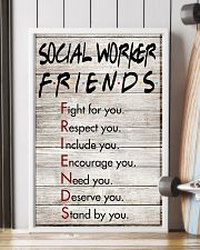 Social Worker Friends - Poster 11x17 Poster lifestyle-poster-4