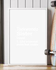 TAEKWONDO SISTER LIKE A NORMAL 11x17 Poster lifestyle-poster-4