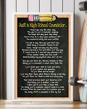 3 JUST A high school counselor kd POSTER 11x17 Poster lifestyle-poster-4