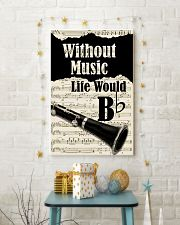 WITHOUT MUSIC LIFE WOULD - CLARINET POSTER 11x17 Poster lifestyle-holiday-poster-3