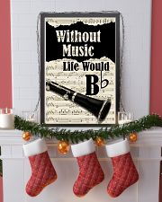 WITHOUT MUSIC LIFE WOULD - CLARINET POSTER 11x17 Poster lifestyle-holiday-poster-4