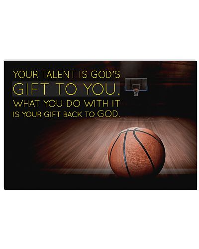 basketball- your talent is god's poster LQT