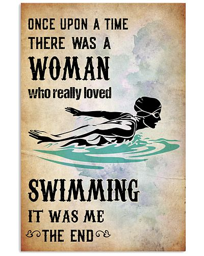 SWIMMING- ONE UPON A TIME POSTER