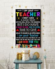 I AM YOUR TEACHER POSTER 11x17 Poster lifestyle-holiday-poster-3